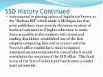 ssd history continued1