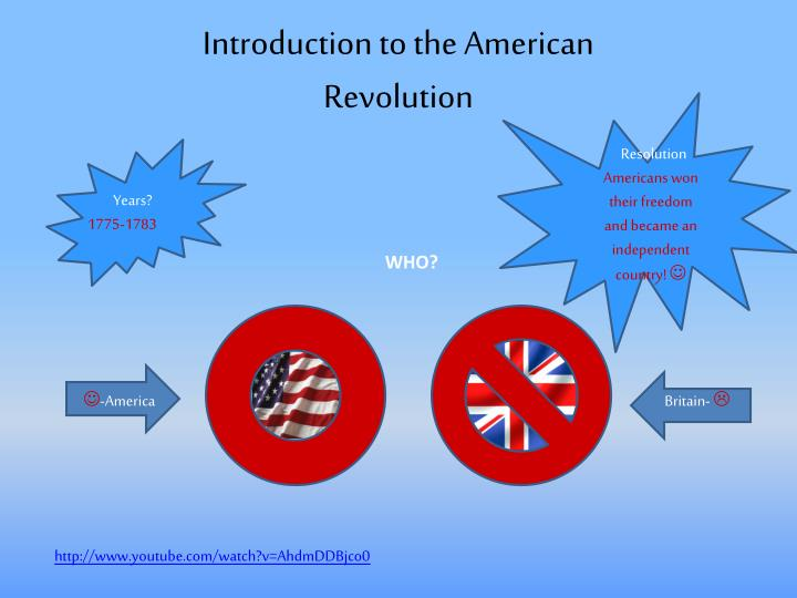 """an introduction to the history of the american independence The second american revolution thesis statement """"the civil war may also be termed as the second american revolution in terms of the political, social and economic changes that occurred during the war"""" introduction american civil war was fought between 1861 and 1865."""