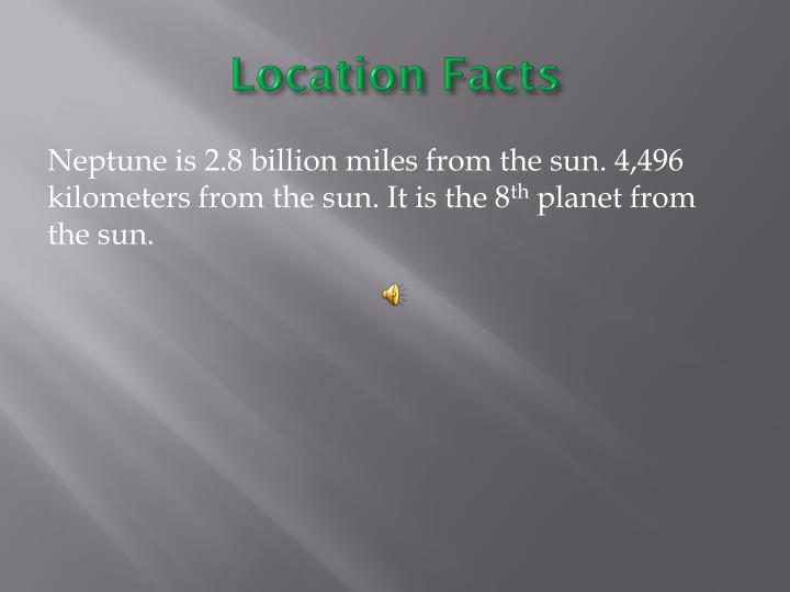 Location facts