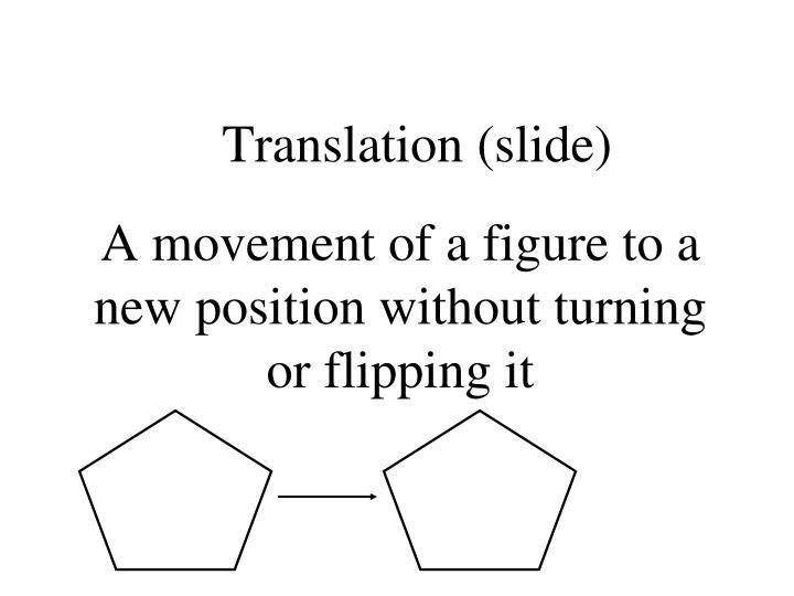 Translation (slide)