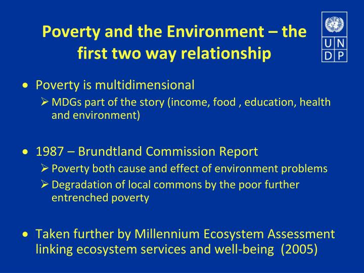 outline in five ways the relationship between poverty and health