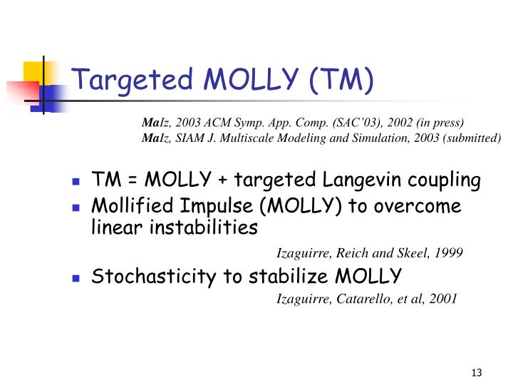 Targeted MOLLY (TM)