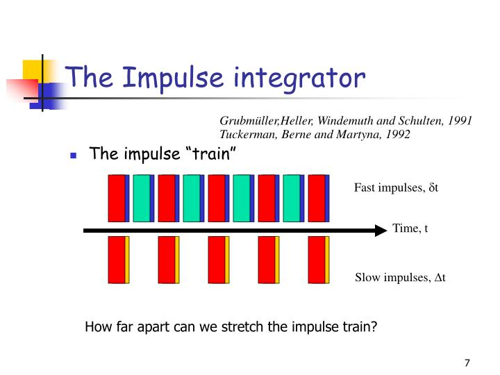 The Impulse integrator