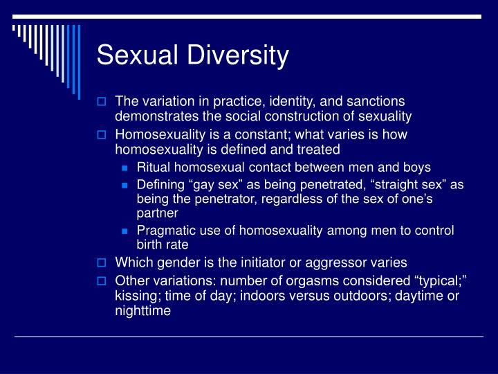 Sexual Diversity