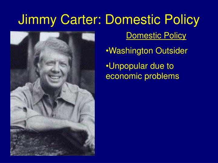 Jimmy Carter: Domestic Policy