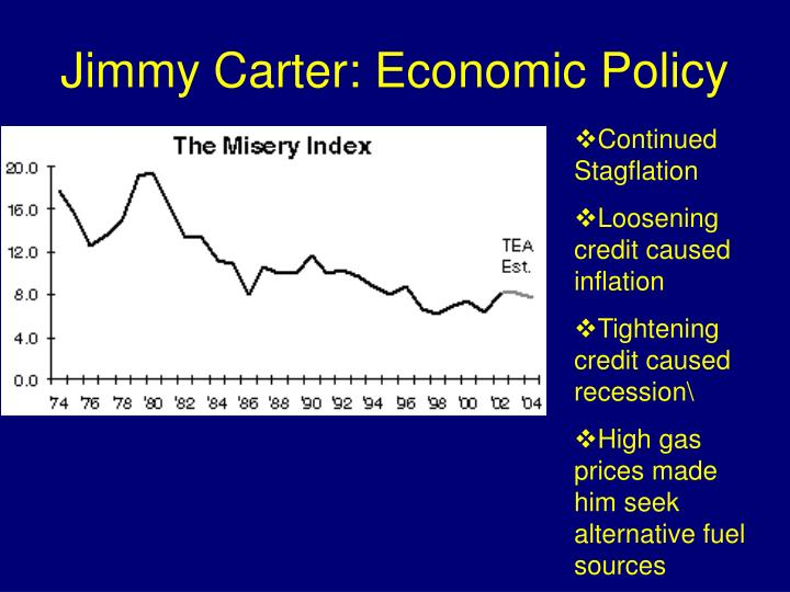 Jimmy Carter: Economic Policy