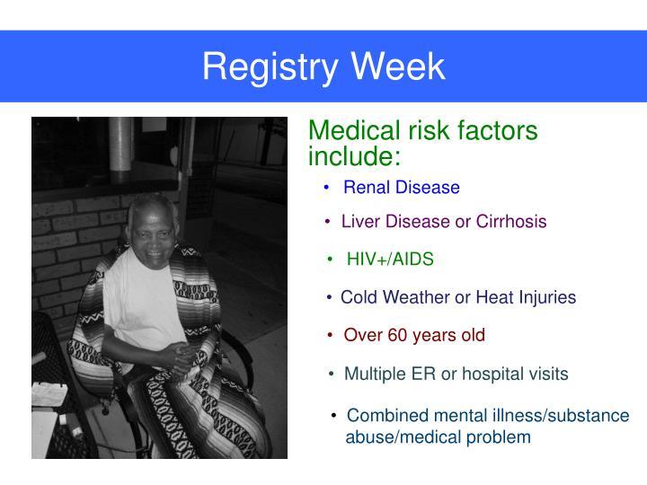 Registry Week
