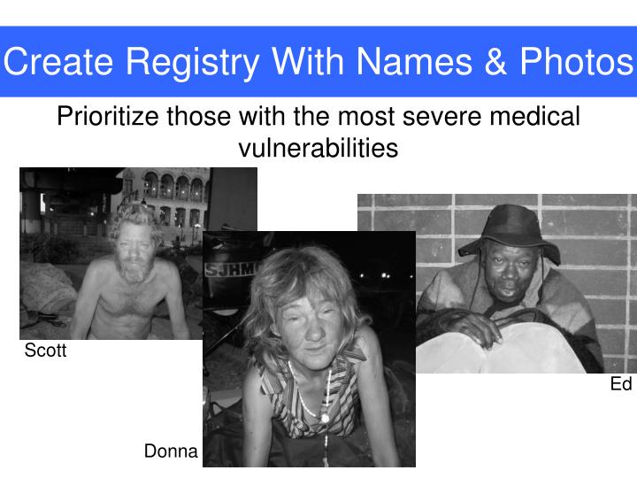 Create Registry With Names & Photos