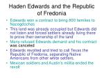 haden edwards and the republic of fredonia