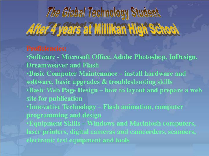The Global Technology Student