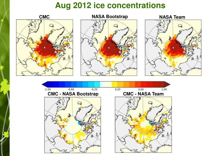 Aug 2012 ice concentrations