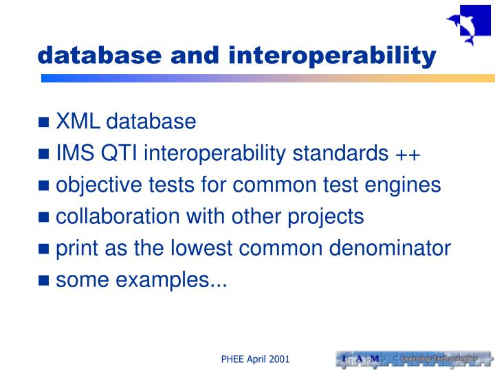 database and interoperability