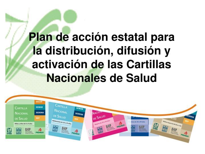 Plan de acción estatal para
