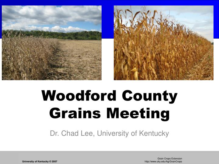 Woodford county grains meeting