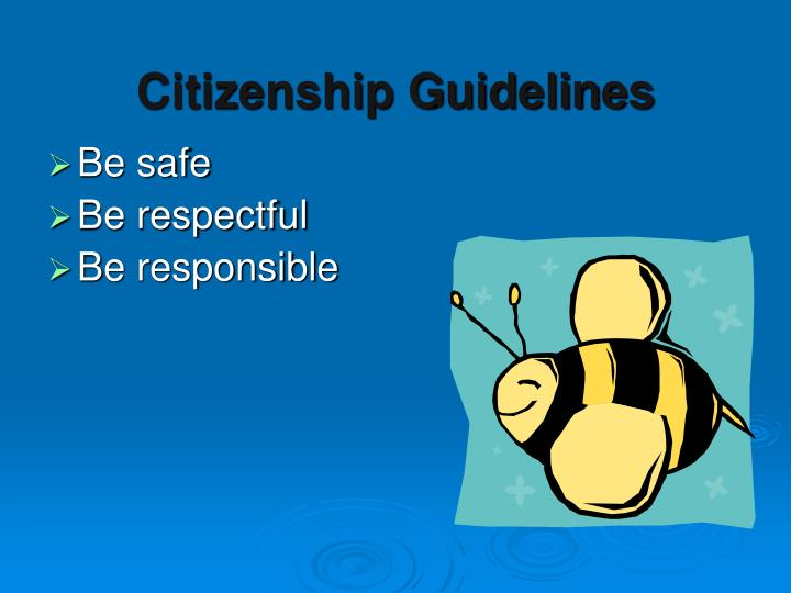 Citizenship Guidelines