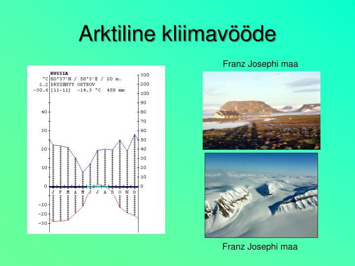 Arktiline kliimavööde