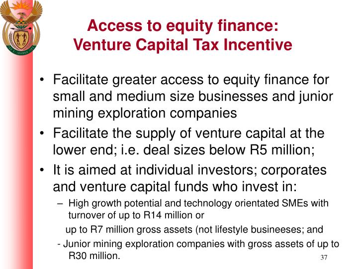 Access to equity finance: