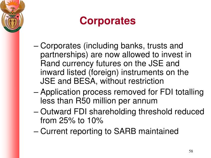 Corporates