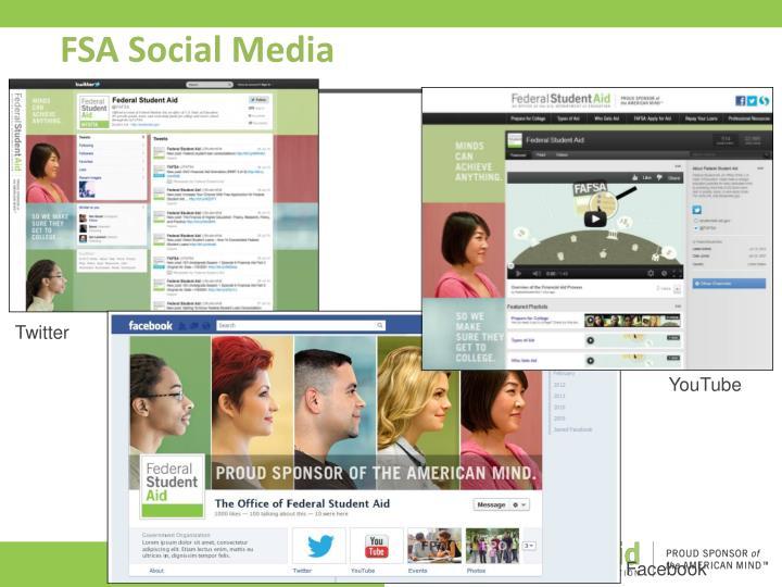 FSA Social Media
