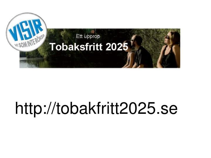 http://tobakfritt2025.se