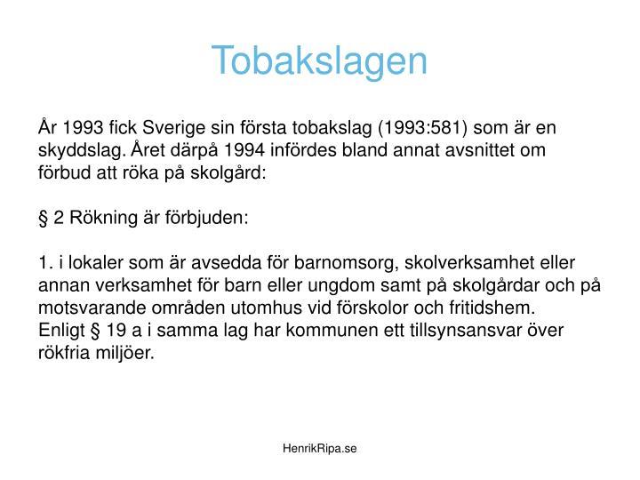 Tobakslagen