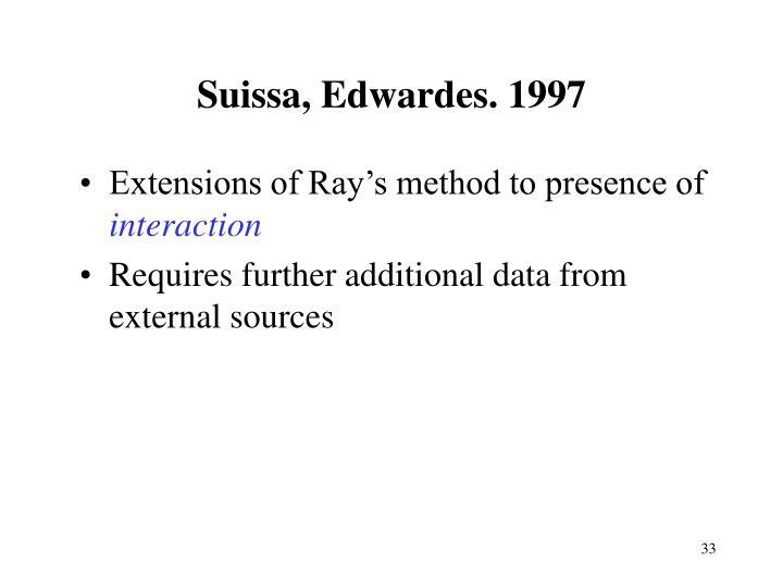 Suissa, Edwardes. 1997