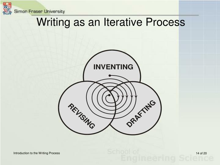 Writing as an Iterative Process
