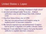 united states v lopez