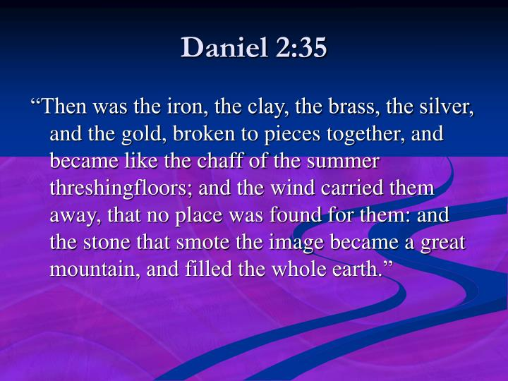 Daniel 2:35