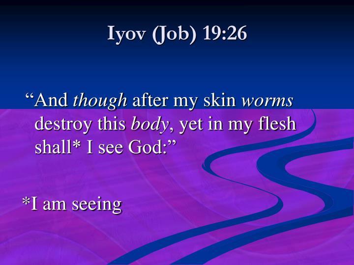 Iyov (Job) 19:26