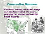 conservation measures1