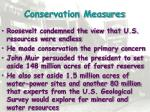 conservation measures2