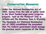 conservation measures4