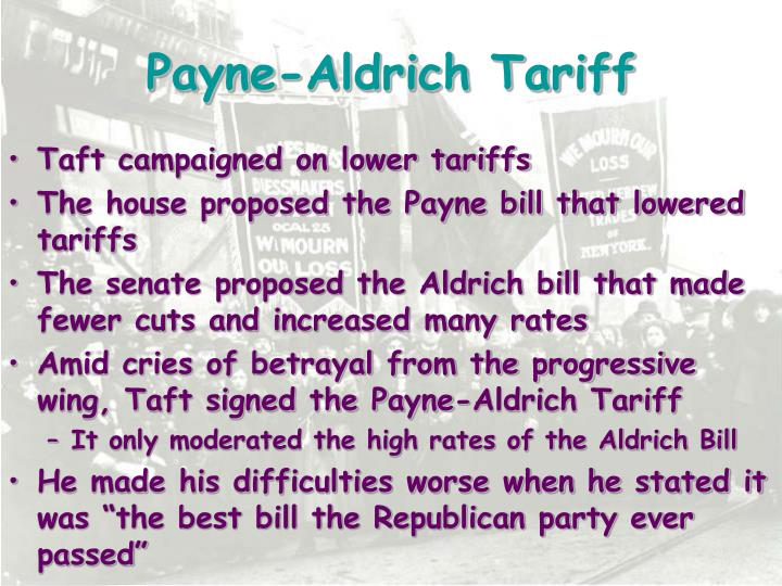 Payne-Aldrich Tariff