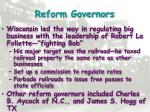 reform governors
