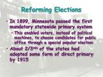reforming elections1