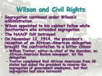 wilson and civil rights1