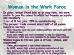 women in the work force1