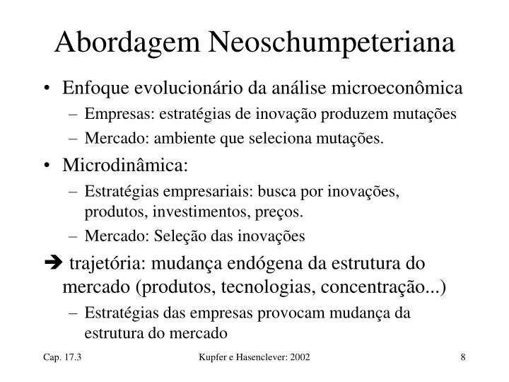 Abordagem Neoschumpeteriana