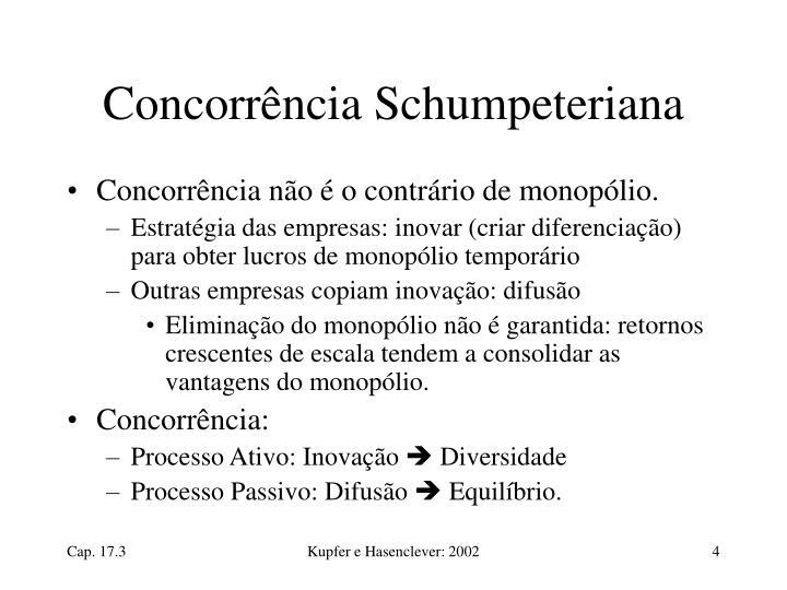 Concorrência Schumpeteriana
