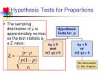 hypothesis tests for proportions1