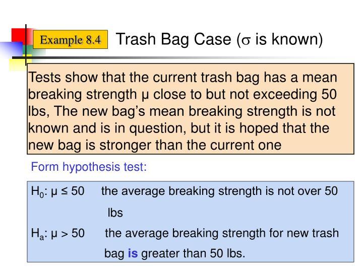 Trash Bag Case (