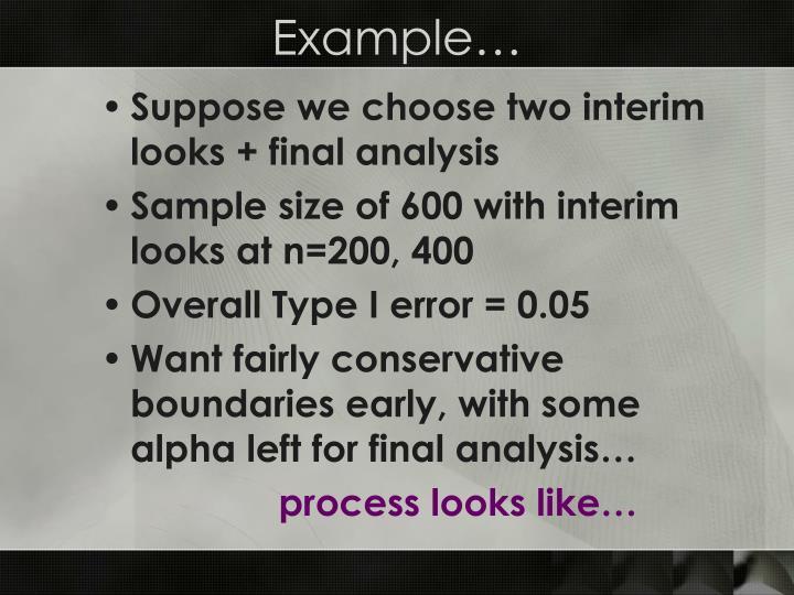 Example…