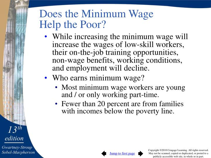 Does the Minimum Wage