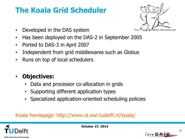 The Koala Grid Scheduler