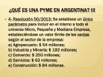 qu es una pyme en argentina iii