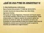 qu es una pyme en argentina iv