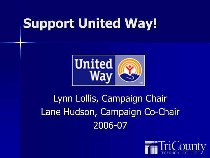 Support United Way!