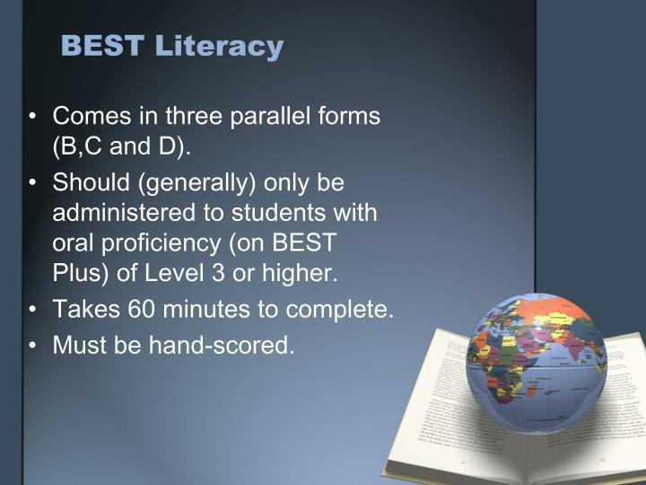 BEST Literacy