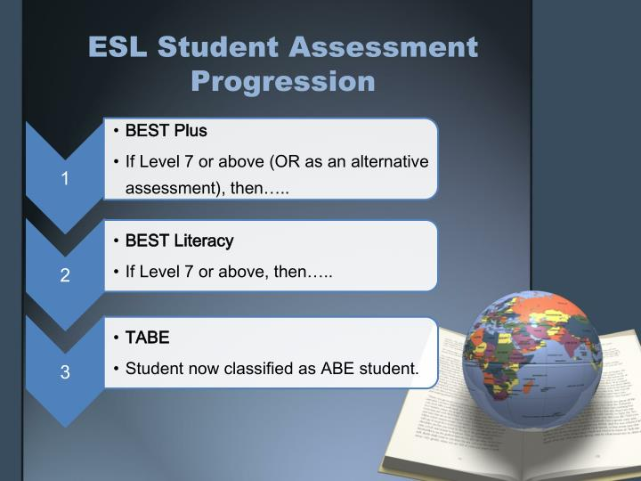ESL Student Assessment Progression